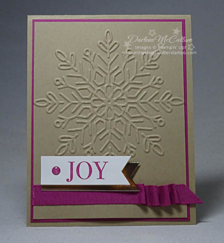 Winter Wonderland Embossing Folder