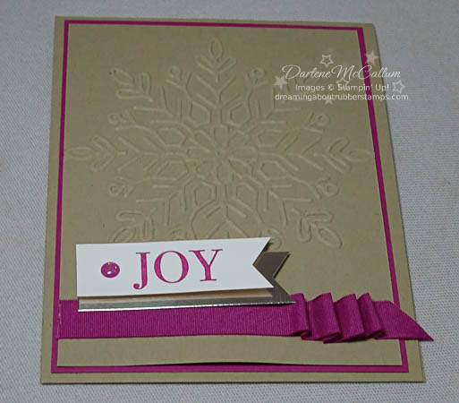 Winter Wonderland TIEF Card