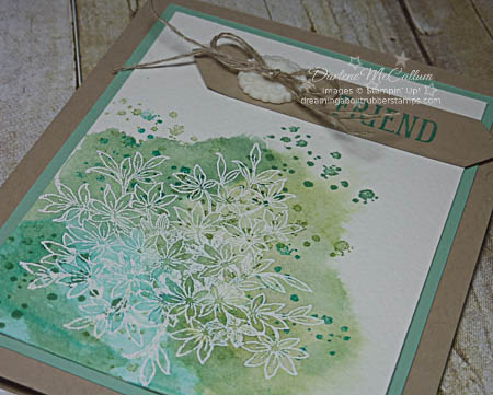 Stampin' Up! Awesomely Artistic Watercolor Card