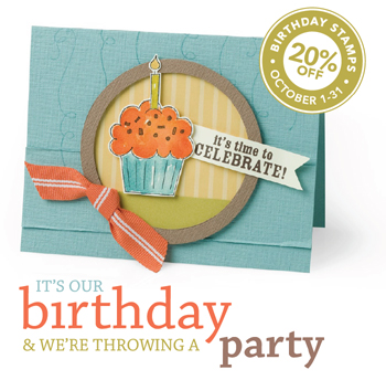 Sets on Sale for Stampin' Up!'s birthday!
