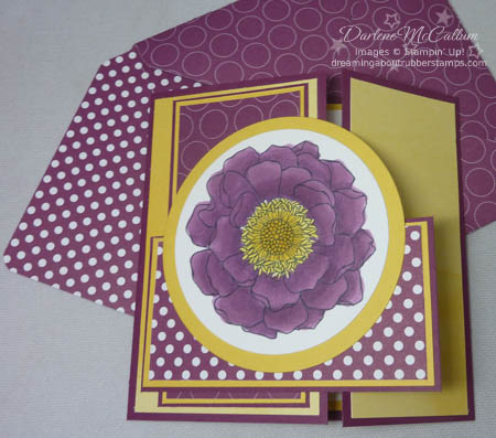 Stampin' Up! Bleded  Bloom