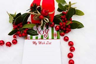 Stampin Up Christmas Wish List